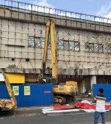 高州城三代人的记忆,中山路体育中心今早开始拆迁?