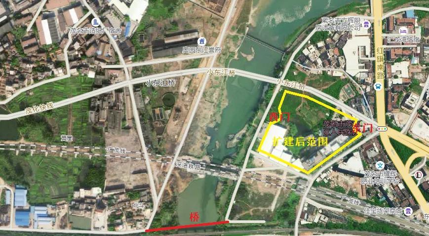 茂南区人民医院要扩建了!面积28亩